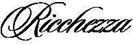 Ricchezza — ювелирные изделия Логотип