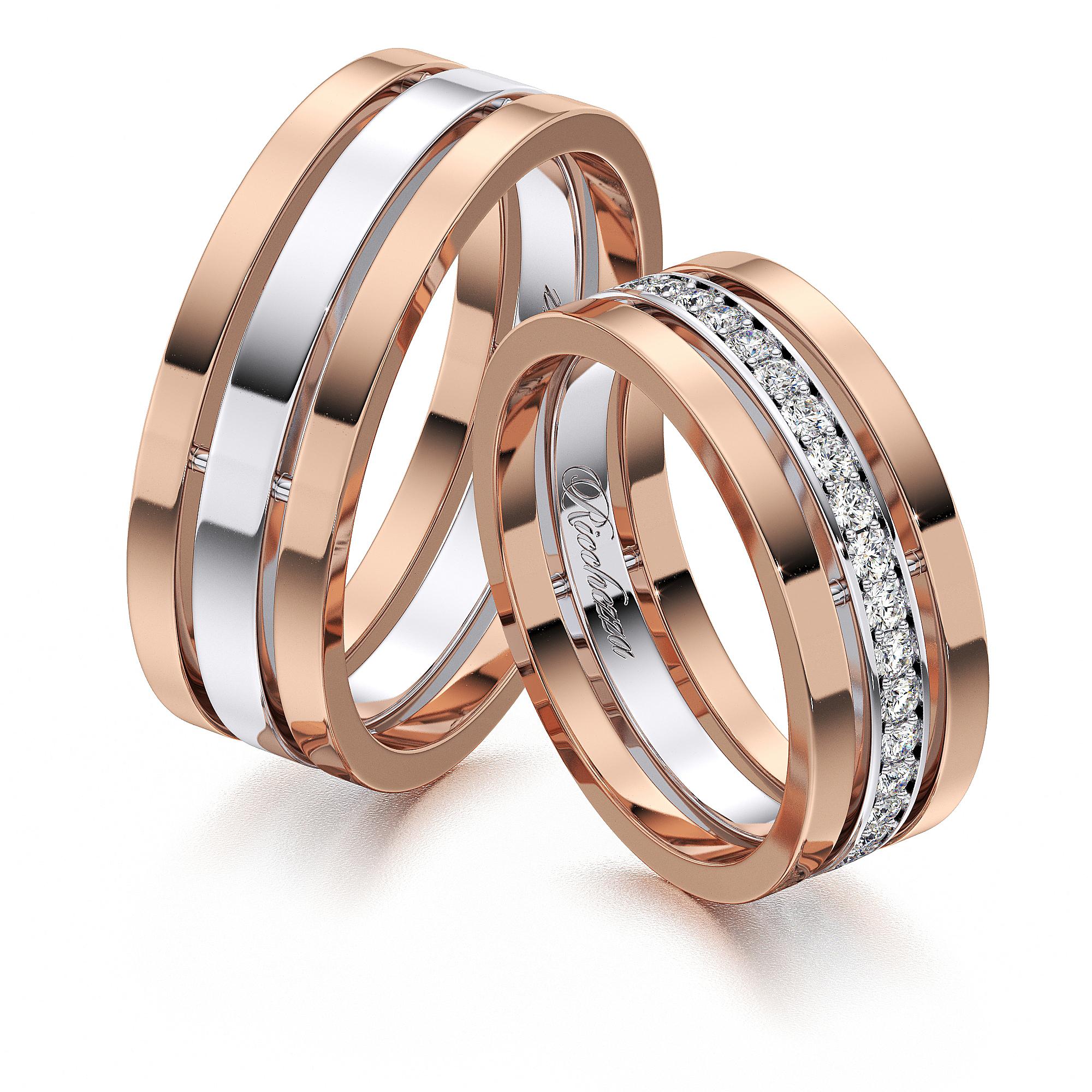 Обручальные кольца RS36 — Ricchezza — ювелирные изделия 12282d3aed7