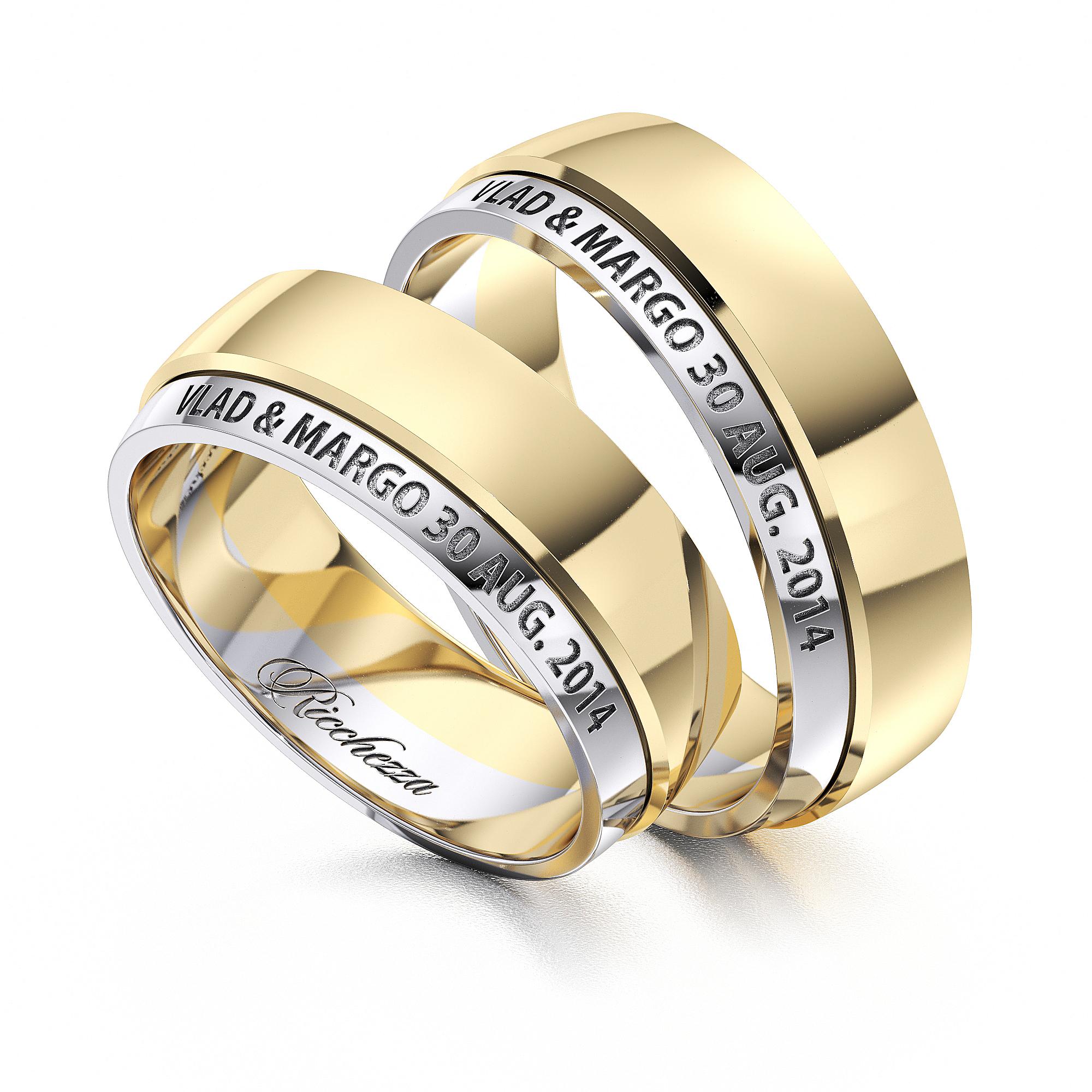 Обручальные кольца ERS31 — Ricchezza — ювелирные изделия 904bb831cf5