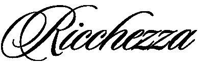 Ricchezza — ювелирные изделия Retina Logo