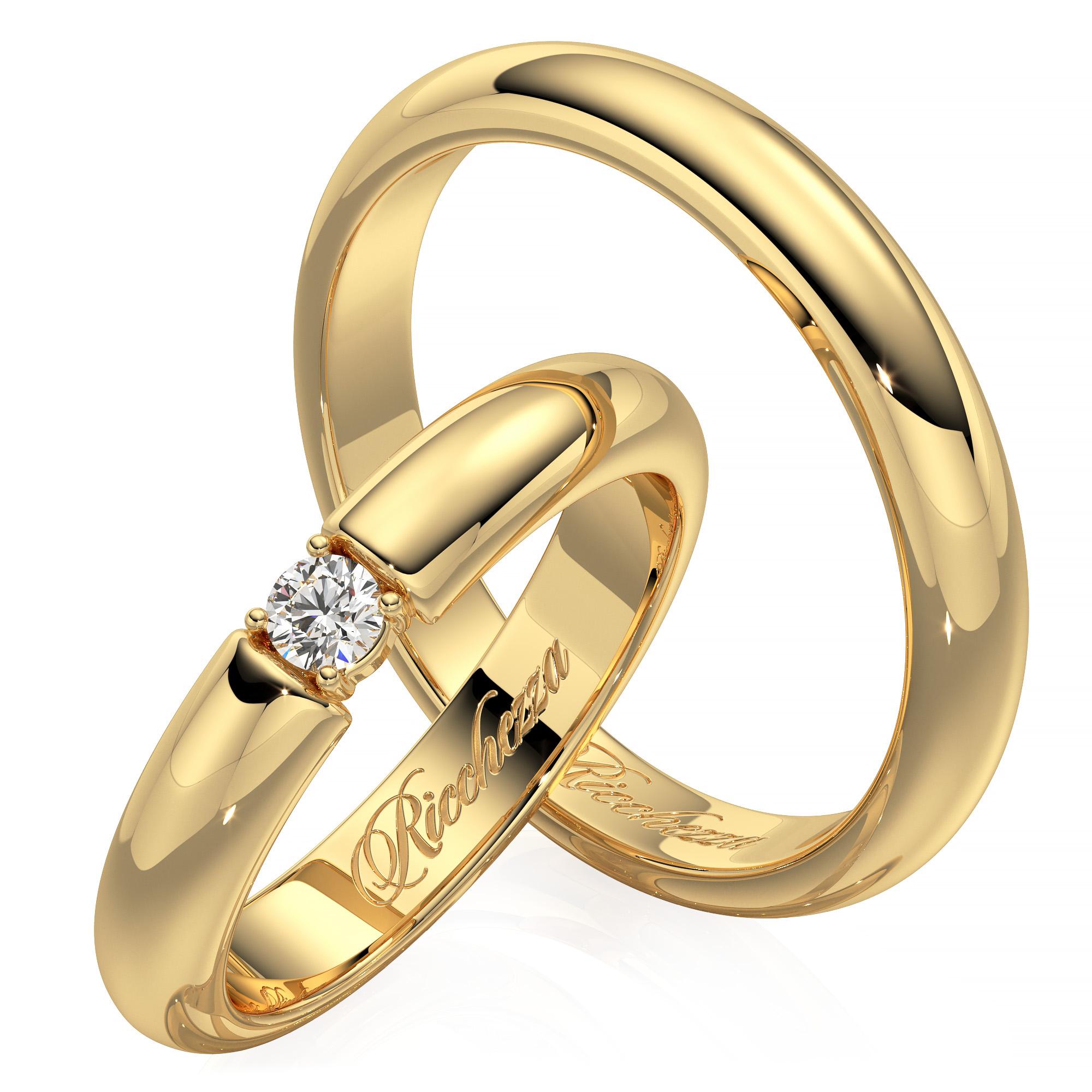 Обручальные кольца цены за пару